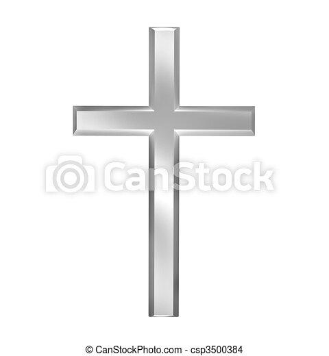 Christian cross - csp3500384