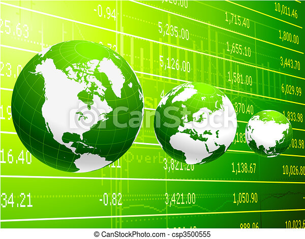 global business and economy  abstract background - csp3500555