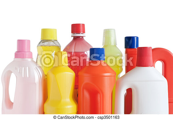 plastic detergent bottles - csp3501163