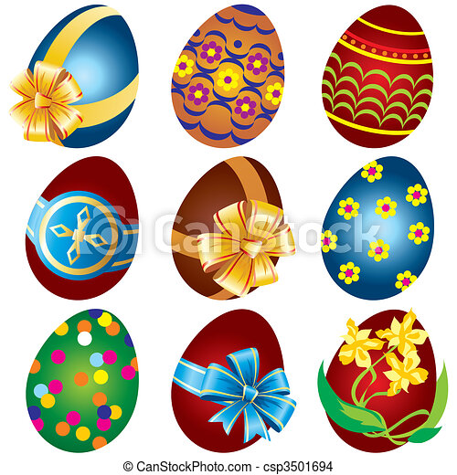 Easter eggs - csp3501694