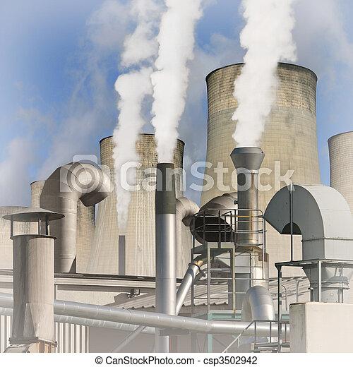 Industrial Landscape - csp3502942
