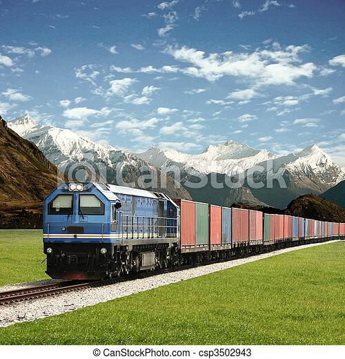 Freight Train - csp3502943