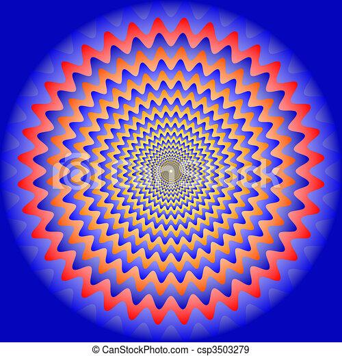 optic illusion - csp3503279