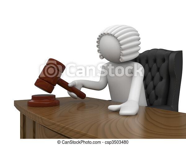 Mr. Judge - csp3503480