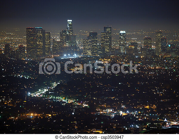 Los Angeles Night - csp3503947