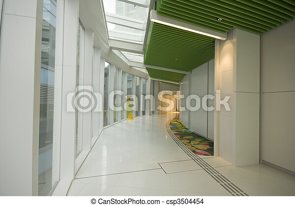 It is a modern flyover at Hong Kong  - csp3504454