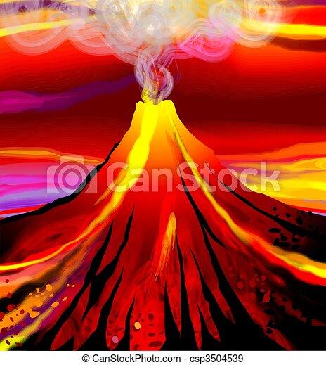 volcano - csp3504539