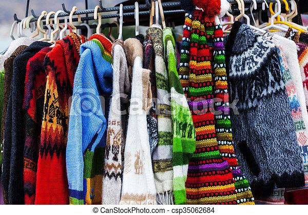 alpaka, wełna, swetry - csp35062684