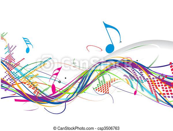 Music theme  - csp3506763