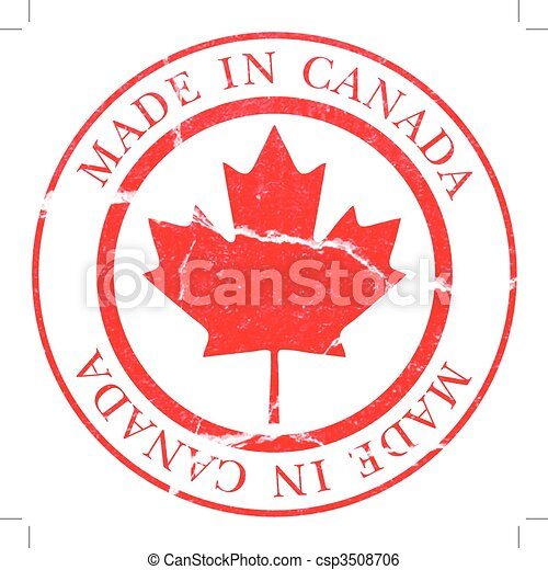 Made in Canada Decal - csp3508706