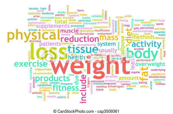 Weight Loss - csp3509361