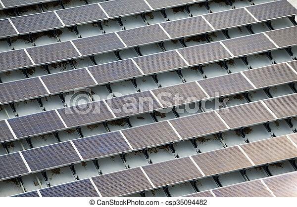 Solar power energy plant - csp35094482