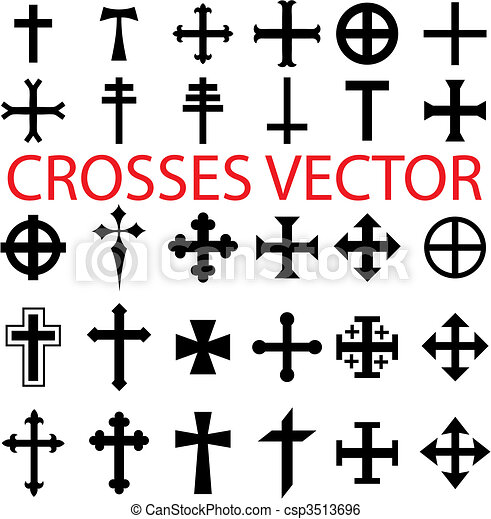 Set of crosses - csp3513696