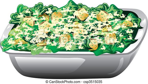 Caesar salad - csp3515035
