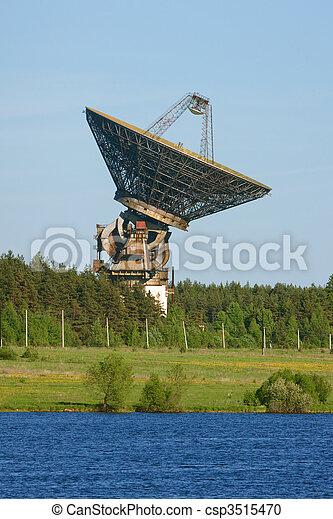 space communication antenna - csp3515470