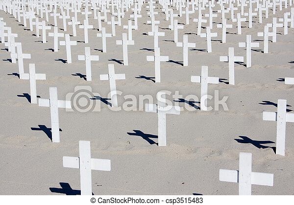 Santa Monica Beach Memorial - csp3515483