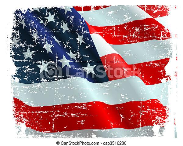 USA flag - csp3516230