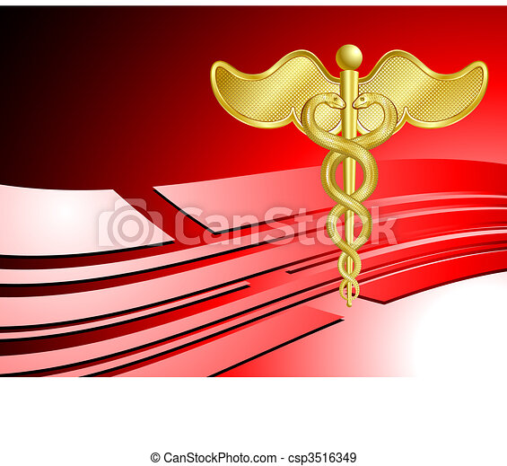 Medical healthcare background - csp3516349