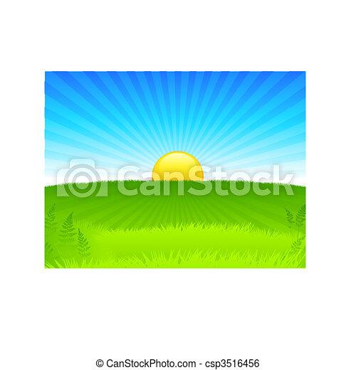 Sunset internet background - csp3516456