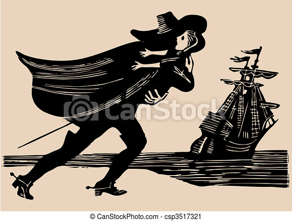 Vector Clip Art of midnight kidnapping etching csp3517321 ...