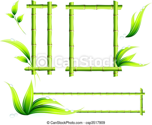 Bamboo Frames - csp3517909
