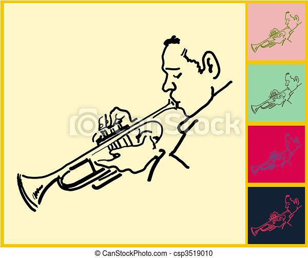 Live Jazz & Blues - csp3519010