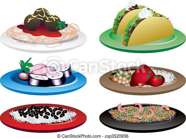 Ethnic Food - csp3520936