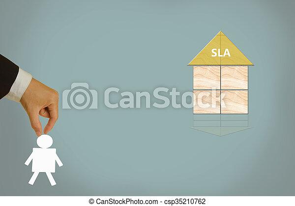 Service Level Agreement - csp35210762