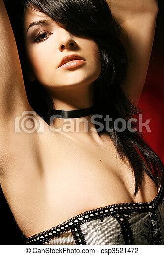 Glamorous Woman - csp3521472