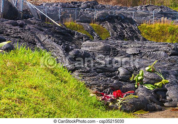 Lava flow - csp35215030