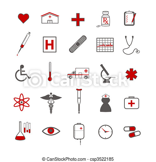Medical Icons - csp3522185