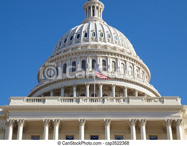 US Capitol Dome - csp3522368