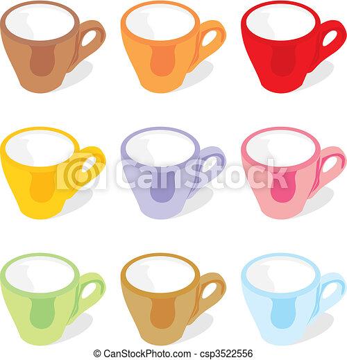 espresso cups - csp3522556