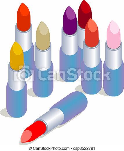 Lipsticks! - csp3522791