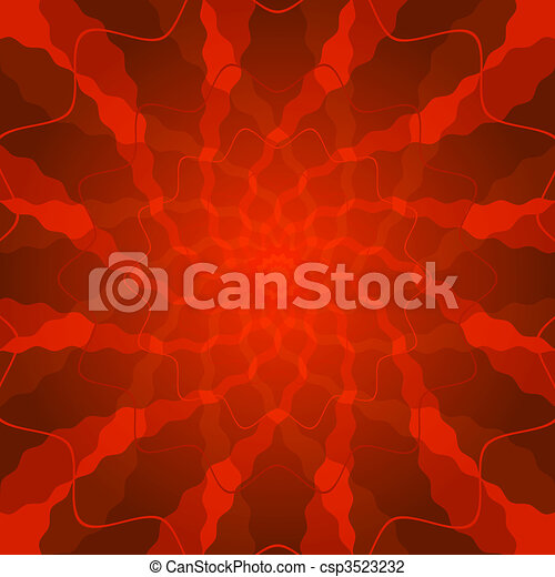 Abstract vivid red background  - csp3523232