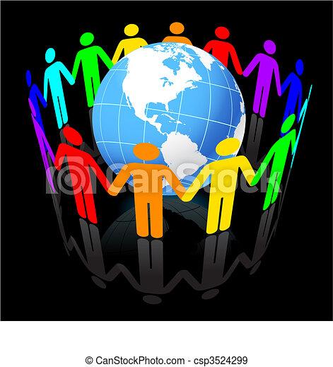 Globe Under Unity - csp3524299