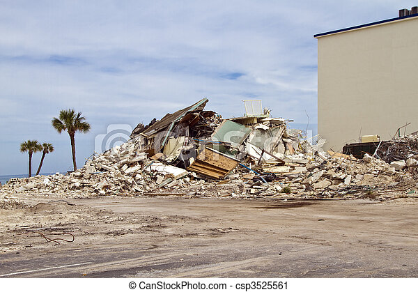 House demolition - csp3525561