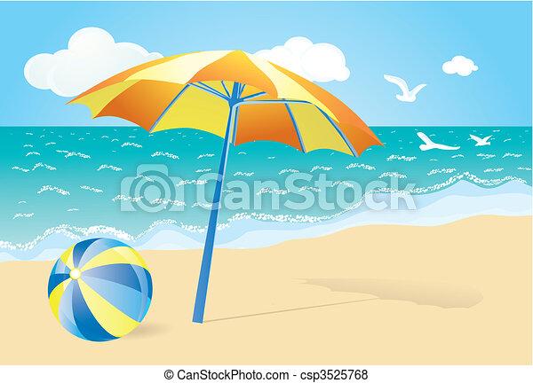 summer background - csp3525768