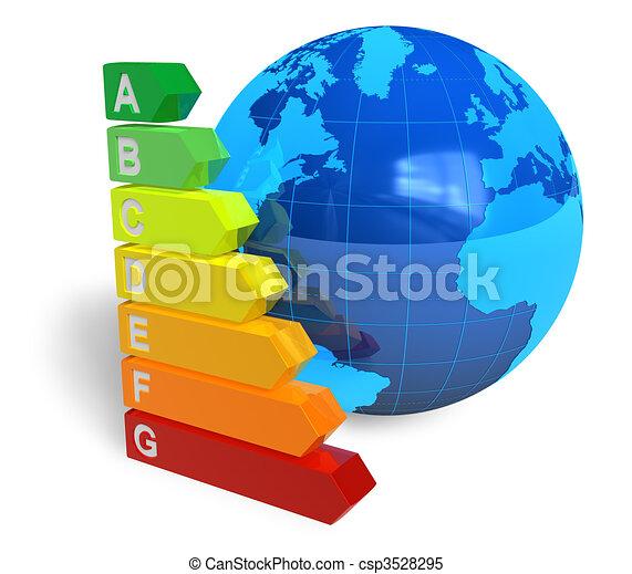 Energy efficiency concept - csp3528295