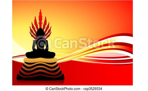Buddha Statue - csp3529334