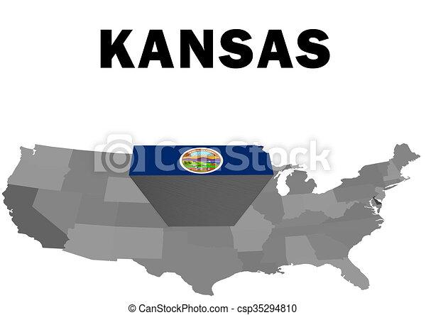 Kansas - csp35294810