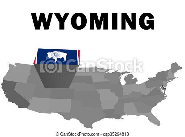 Wyoming - csp35294813