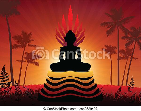 Buddha Statue - csp3529497