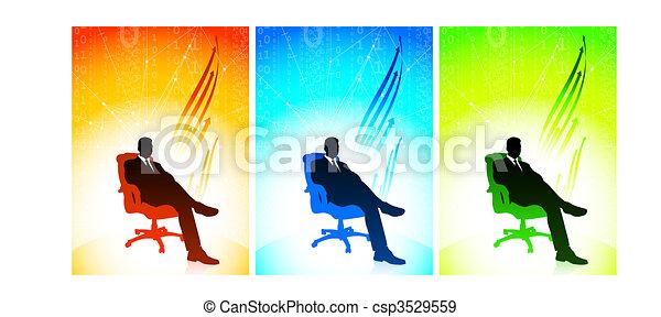 Executive businessman Set - csp3529559