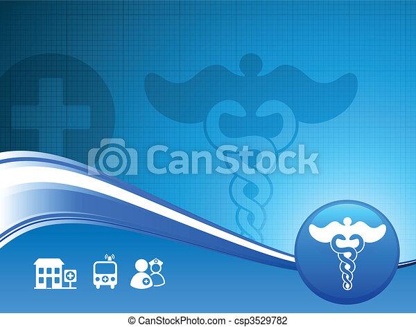 Hospital Background - csp3529782