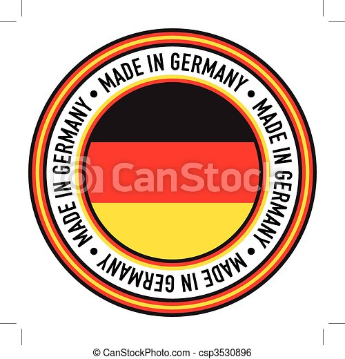 Made in Germany Circular Decal - csp3530896
