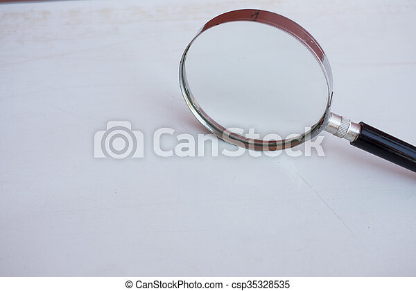 Magnifying glass - csp35328535