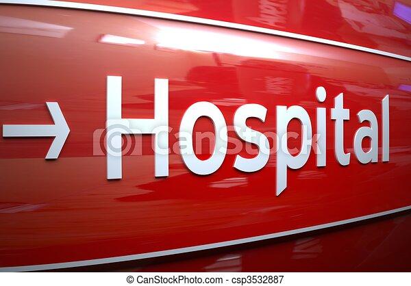 HOSPITAL - csp3532887