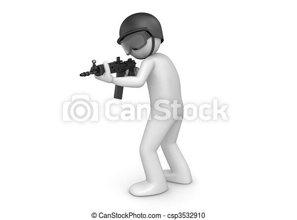 SWAT assault - csp3532910