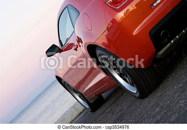 Modern Sports Car - csp3534976